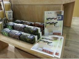 OLIVOS-桃園遠百B1-誠品櫃展示